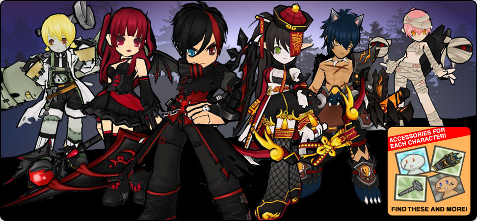 Elsword Halloween 2020 Elsword – Free to Play Anime Action MMORPG